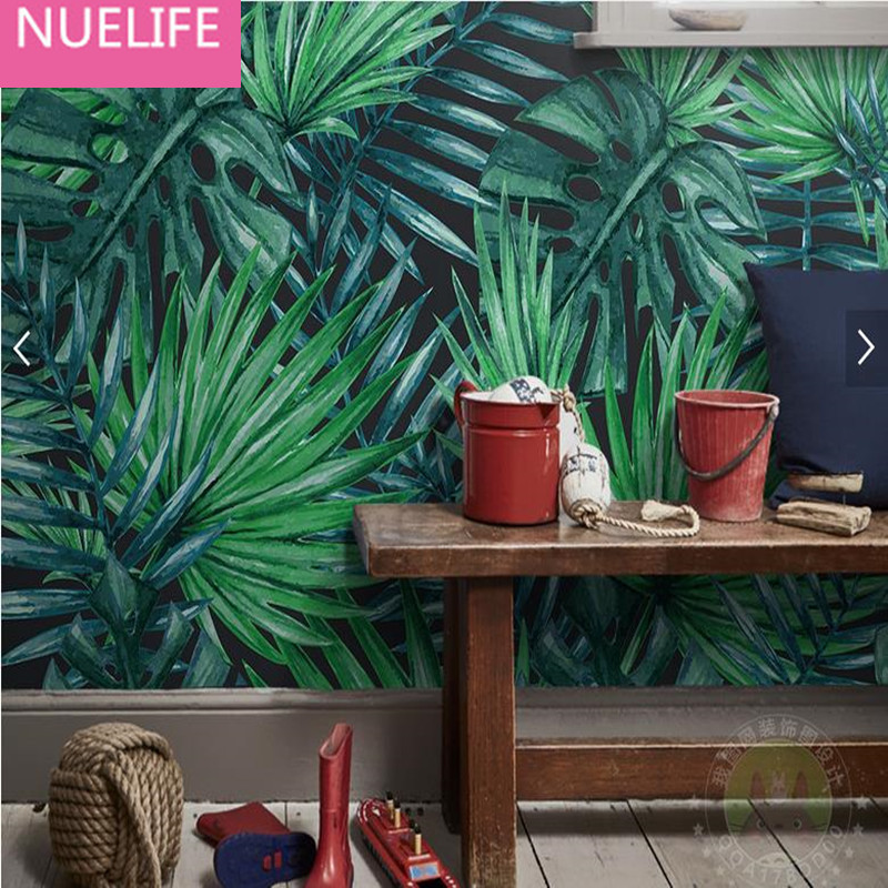 0.53x10m 3D Southeast Asian style tropical rain forest green forest pattern wallpaper  living room bedroom decoration wallpaper nasrin aghamohammadi southeast asian rain forest and its impacts on climate change