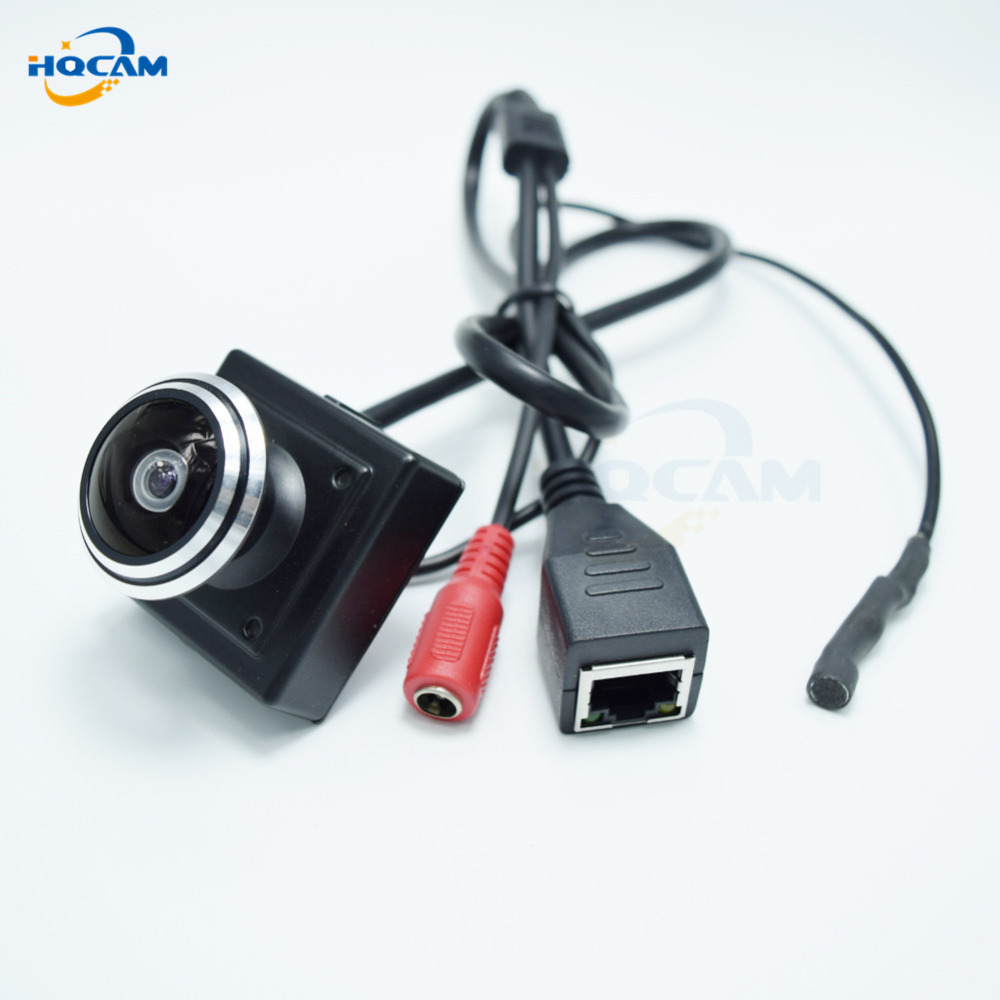 HQCAM 960P Mini IP Camera Home Security Camera IP Camera Support P2P Plug and Play 1.78mm Fisheye Lens Wide Angle Fisheye Lens