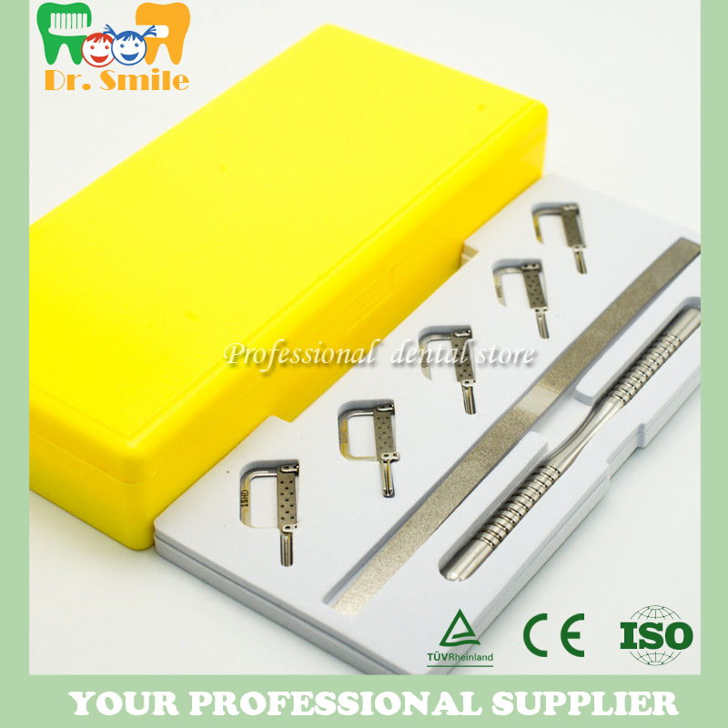 Dental Reciprocating IPR System Kit Automatic Strips with Manual HandleDental Reciprocating IPR System Kit Automatic Strips with Manual Handle