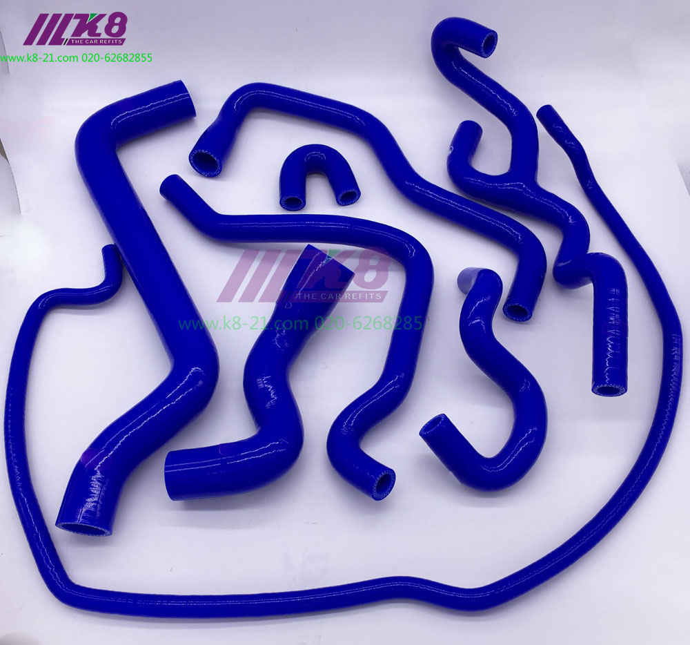 SILICONE RADIATOR COOLANT HOSE  for SAAB   95(8pcs)  genuine 30723084 engine coolant hose