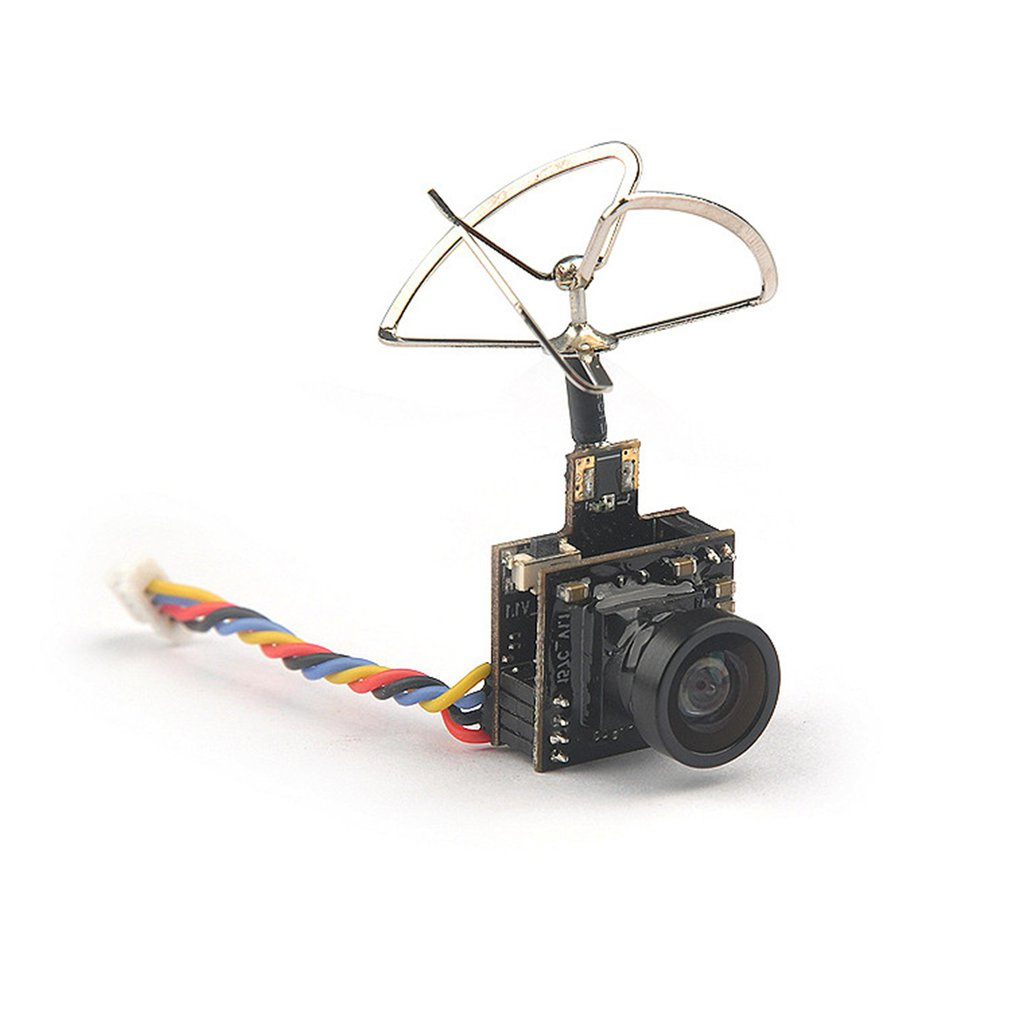 Mini 5.8G Photography Camera Output Power 48CH 25MW 100MW Switchable Camera AIO FPV VTX HC48DS Camera for Indoor FPV RC Accs