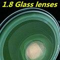Стеклянный объектив 1.8 высокого преломления зеленый фильм асферические линзы высокой четкости ультратонкий высокая близорукость рецепту объектив