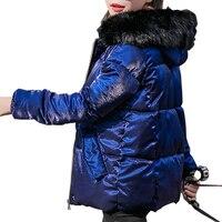 Fur Collar Parka Down Cotton Jacket Winter Jacket Women Thick Snow Wear Coat Lady Clothing Female Jackets Parkas Plus Size 5XL
