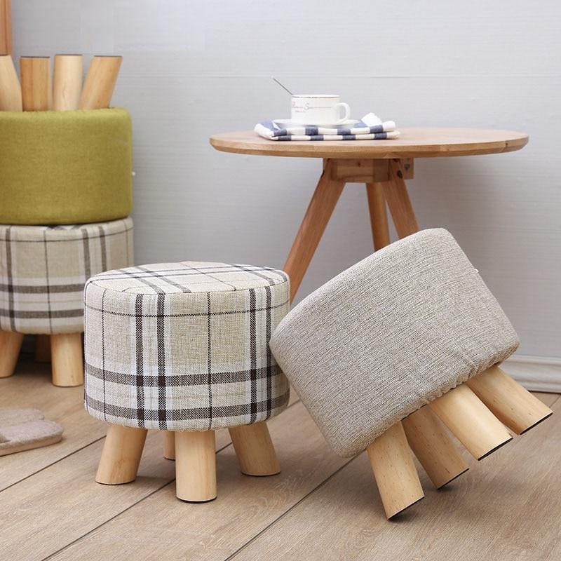 Admirable 28X25Cm Round Taboret Stool Wooden Bedroom Dining Furniture Evergreenethics Interior Chair Design Evergreenethicsorg