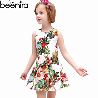 BEENIRA Summer baby Girls Dresses Children Strawberry Print Princess Clothing 2018 Baby Sleeveless Vest Costume New for Party