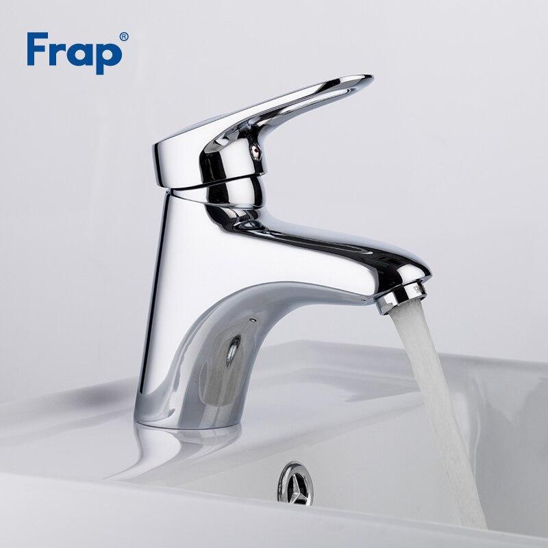 Frap Brass Body Bathroom Faucet Torneira Mixer Tap Single Lever Faucet Lavatory Vessel Sink basin mixer tap basin faucet F1004