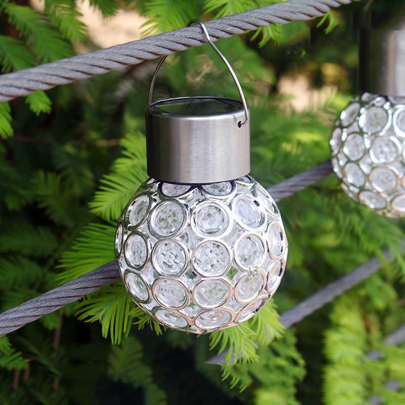 LYFS уличная Водонепроницаемая Солнечный шар лампы многоцветный светодиодные светильники на солнечной батарее портативный светильник для кемпинга для внешних декор для сада