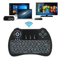 2.4 Ghz Backlit Không Dây Mini Touchpad Bàn Phím Cho PC Pad Xbox 360 PS3 Google Android TV Box HTPC IPTV XXM8