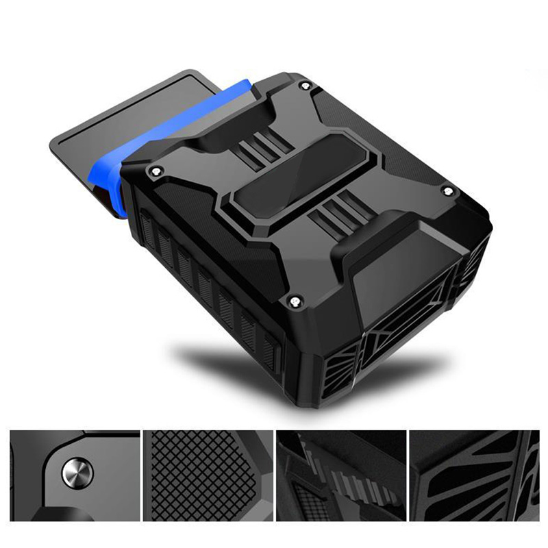 Mini Vacuum Portable Notebook Laptop Cooler USB Air External Extracting Cooling Fan for Laptop Notebook PC Black usb external temperature control cooling fan for ps4 black