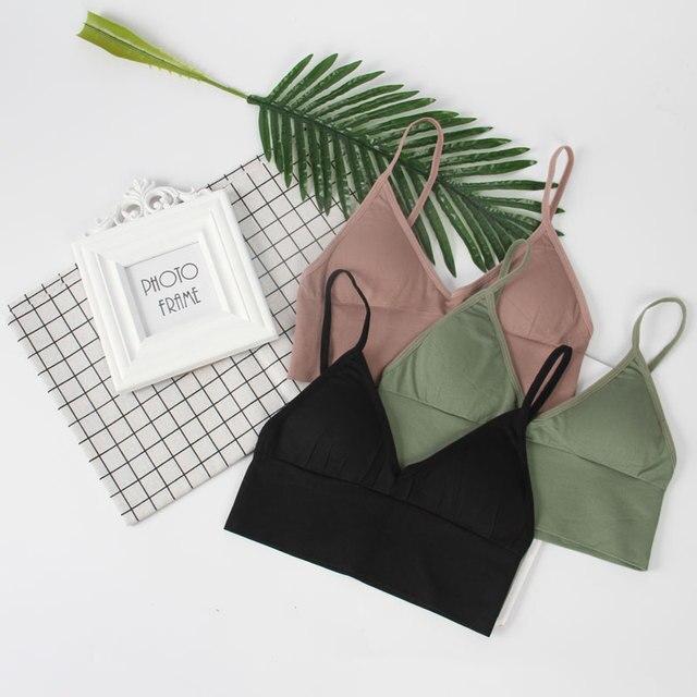 CMENIN Bralette לדחוף את חזיית חזיות לנשים כושר חולצות חזייה Bralette תחתוני Bralet הלבשה תחתונה soutien brallete B0048