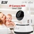 Onvif CCTV Câmera IP Sem Fio 720 P HD IP Cam Interior P2P Baby Monitor Sem Fio Da Câmera de Segurança Wi-fi Câmera de Seguridad BW014
