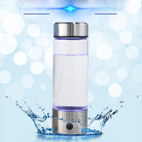 500ML Hydrogen Generator Water Filter Ionizer Alkaline Portable for pure H2 PEM Rich Hydrogen Electrolysis Drink