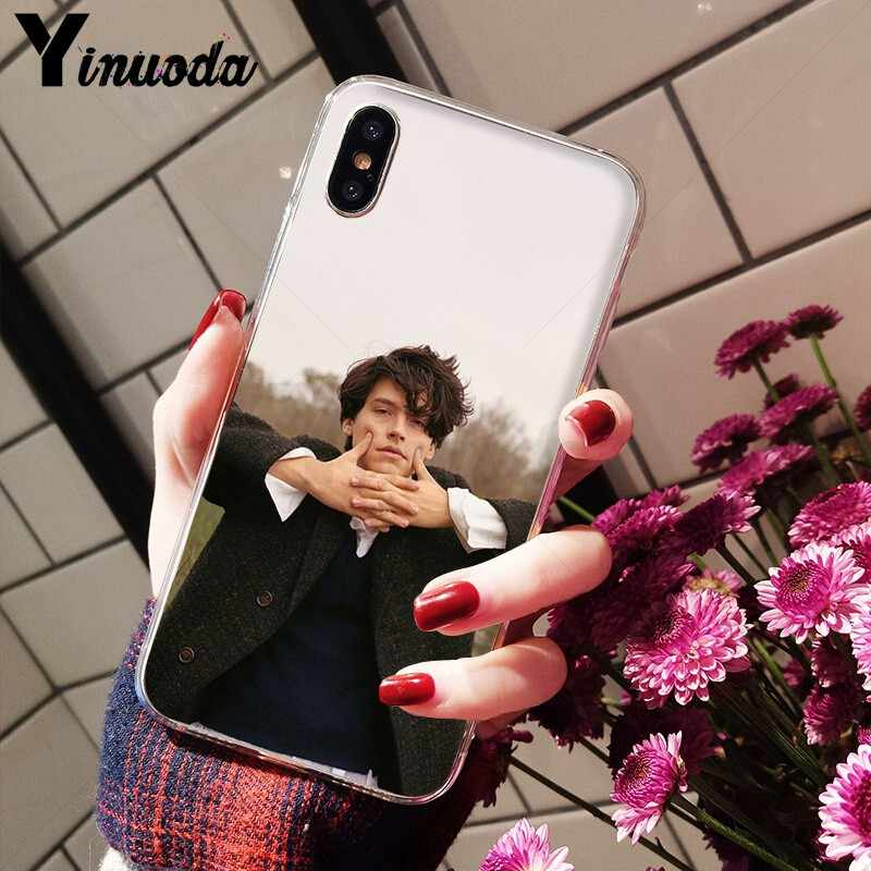 Yinuoda Riverdale Cole Sprouse Pattern TPU Soft Phone Cell Phone Case for Apple iPhone 8 7 6 6S Plus X XS MAX 5 5S SE XR