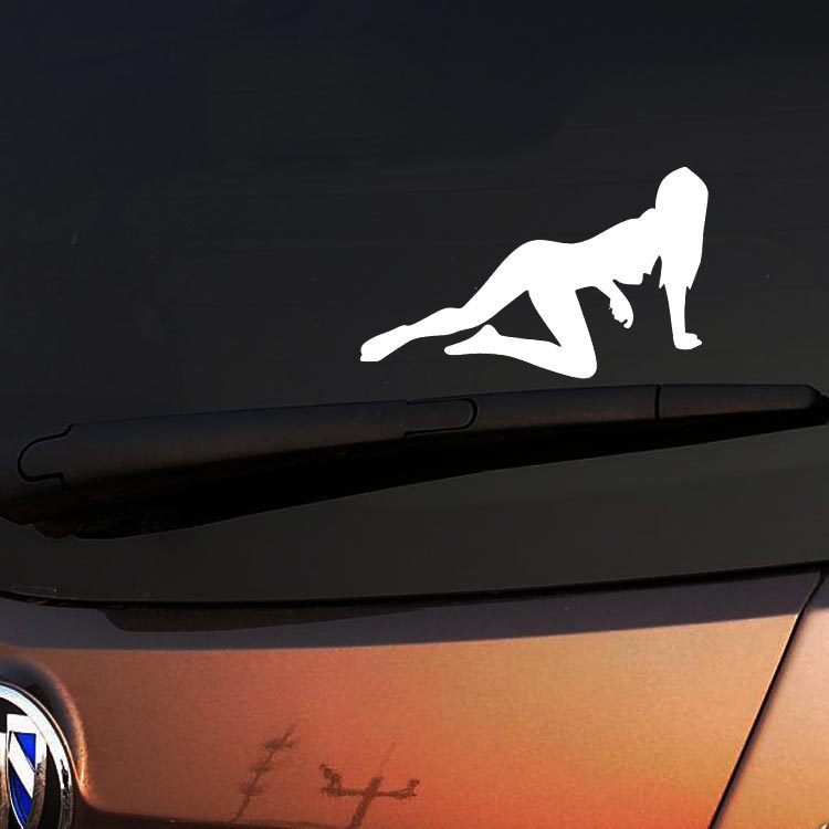Reflective Car Decoration Beauty Lure Car Sticker And Decal For Motorcycle Skoda Octavia Mazda 6 Golf 4 Toyota Nissan Kia Lada