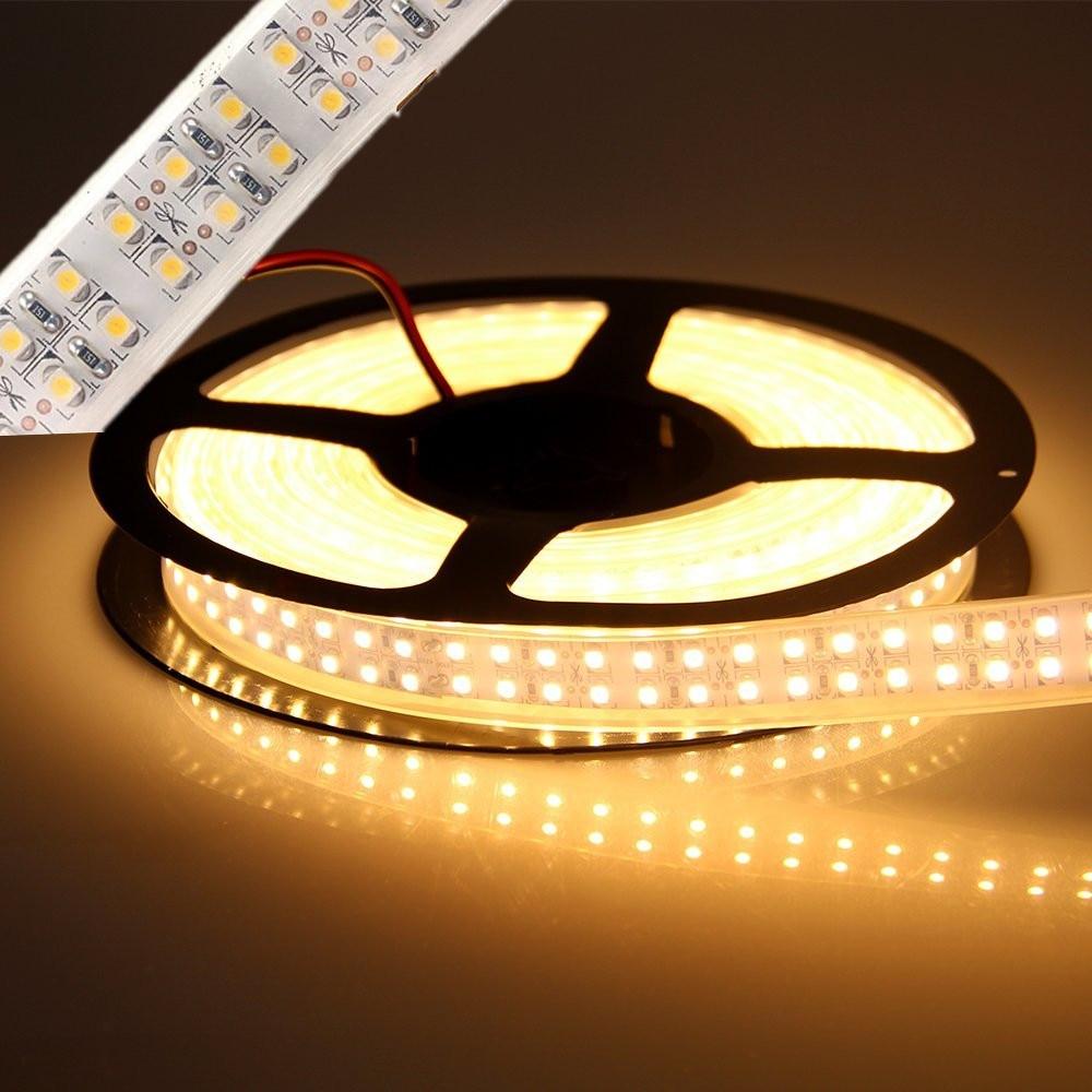 นำแถบแสง smd 3528 1200led 5 เมตร dc 12 - หลอดไฟ LED