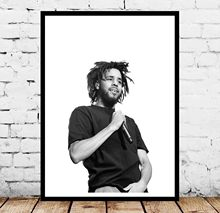 J Cole música Hip Hop póster pared arte(China)