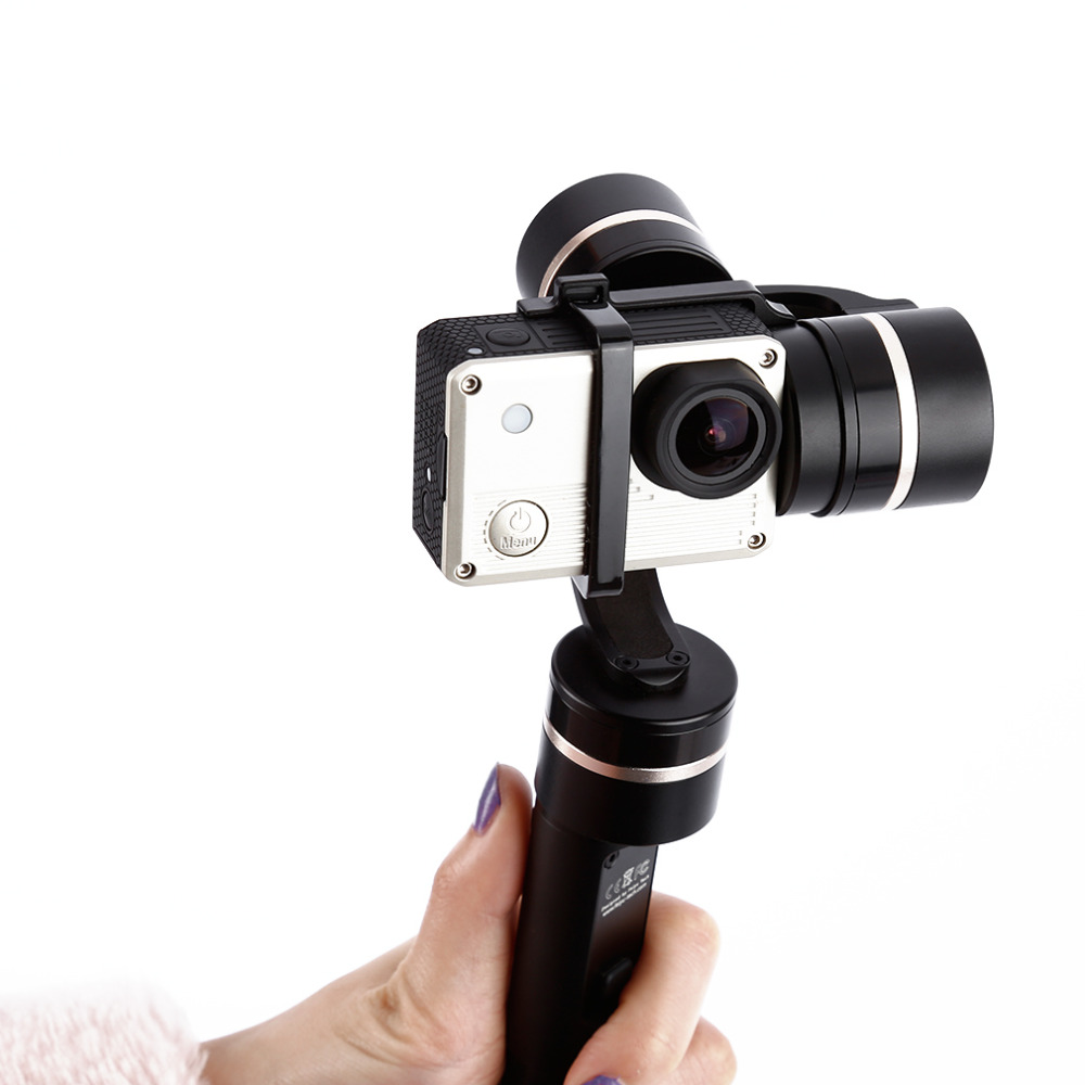 1pcs 3-Axis 360 Degree Handheld Steady Gimbal FY-G4S for GoPro Hero 3 3+ 4 FS007 feiyu tech fy g4s 3 axis 360 degree handheld steady gimbal for gopro hero 3 3 4 tv59