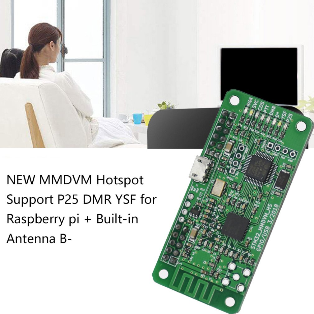 NEW MMDVM <font><b>Hotspot</b></font> Support P25 <font><b>DMR</b></font> YSF for Raspberry pi + Built-in Antenna B image