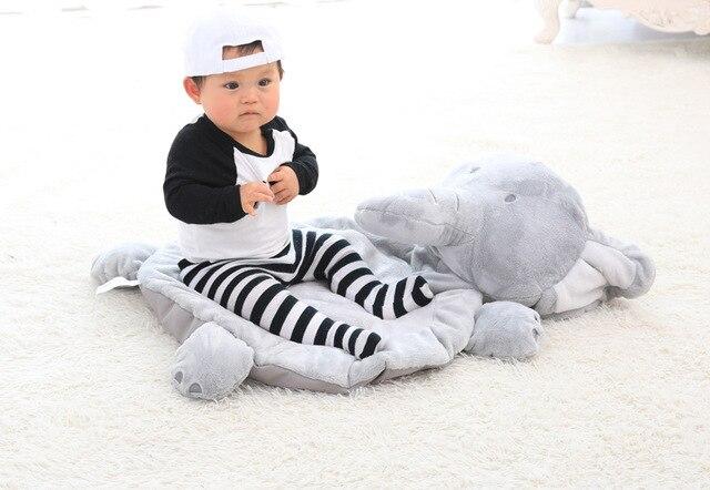 Kussen Voor Kinderen : Olifant pluche dier ronde tapijten tapijten kussen voor kinderen