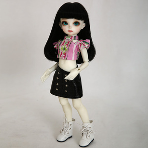 Image 5 - BJD Dolls Momocolor Emily 29cm 1/6 Adorable Cutie High Quality Resin Figure Girl Toys Best Birthday Gifts