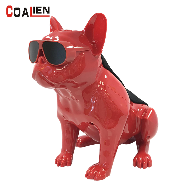 все цены на COALIEN Bulldog Bluetooth Speaker Wireless Portable Handsfree TF Portable Power Bank Speakers Home Theater Stereo Loudspeaker онлайн