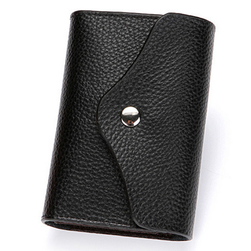 Kreditkort Hållare RFID Card Case Walllet Casual Leather Små Kort - Plånböcker - Foto 6