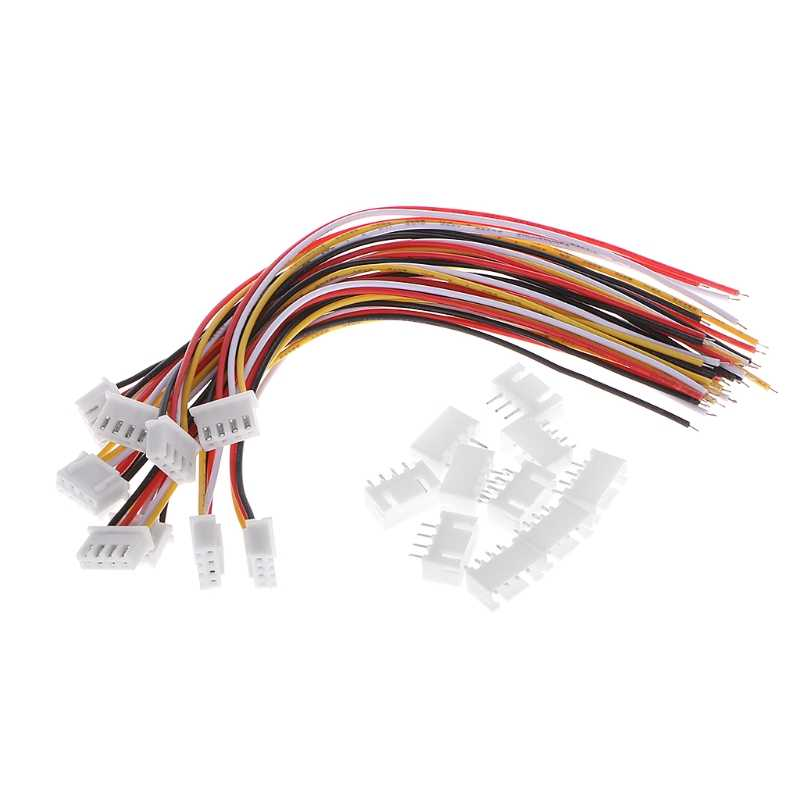 YIXISI 10Pcs 3S 22cm JST-XH Cable de Extensi/ón de Cable,Cable de Extensi/ón,Cable de Extensi/ón de Carga de Equilibrio Adaptador de Cable para Conectar el Motor,la Bater/ía y el ESC,LED