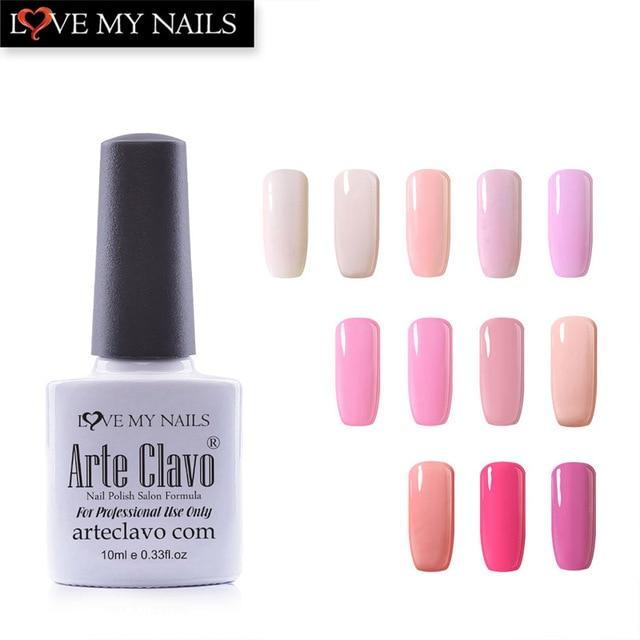 Arte Clavo Any 1 Color 10ml Princess Pink Series UV Gel Polish Color ...