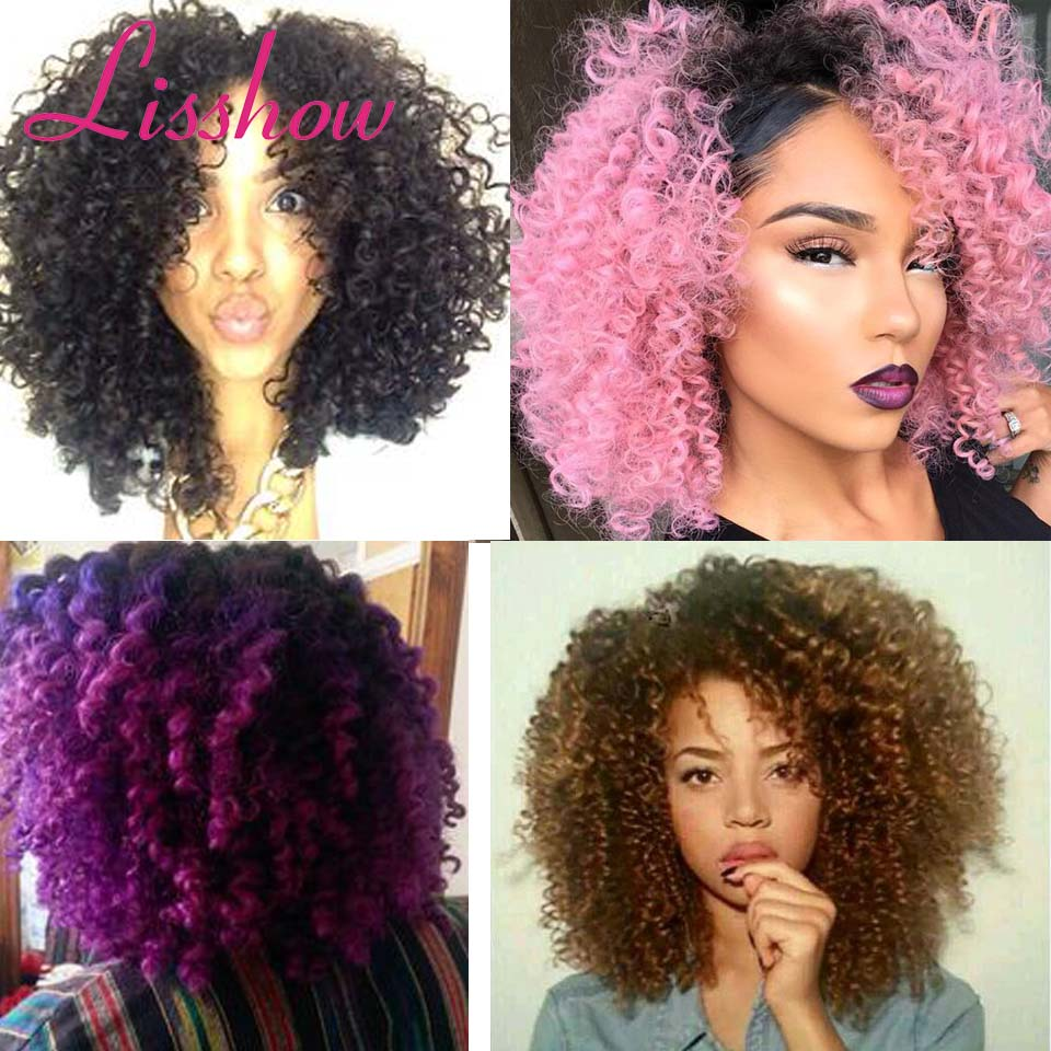 Beautiful Curly Synthetic Hair Weave Crochet Braids Color 1 Bug Jamaican Bounce Ombre Braiding Twist Braid On Aliexpress Alibaba