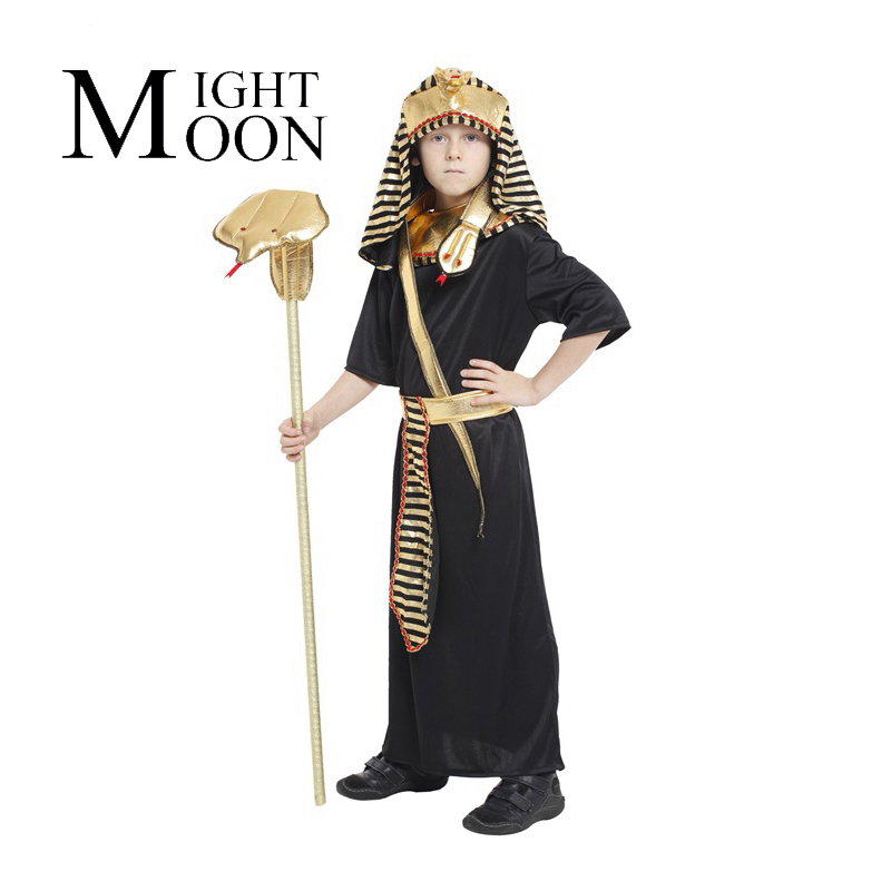MOONIGHT Halloween costumes stage performances, Cos the Pharaoh of Egypt clothes, children masquerade performance clothing