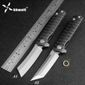 KKWOLF складной карманный нож D2  тактический нож для кемпинга  охоты  выживания