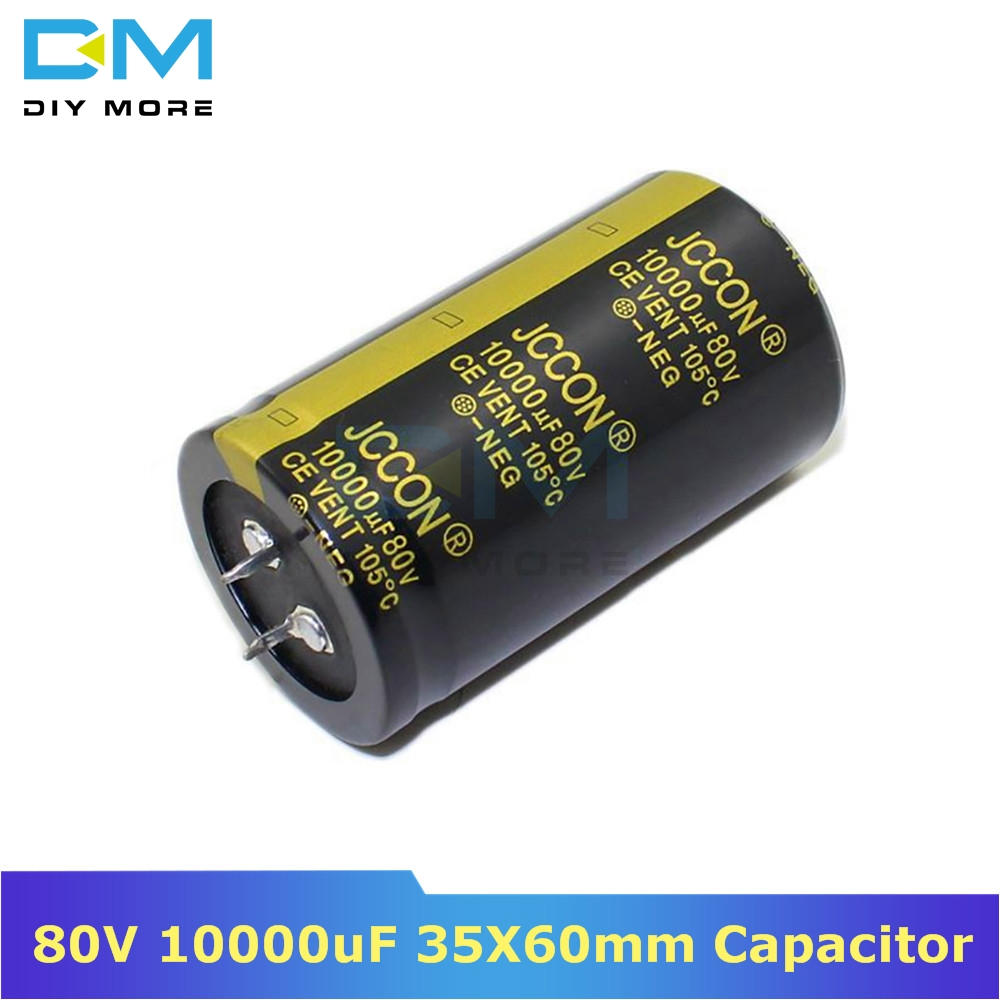 10 Piezas 1000uf 35v 105 ° c Condensador electrolítico Radial 10x20mm