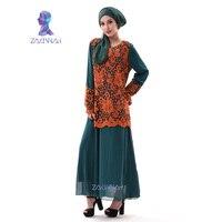 A003 мусульманских Абаи платье Исламская одежда для женщин Дубай Абаи Исламская Кафтан Дубай Макси мусульманин Абаи халат Восточный араб