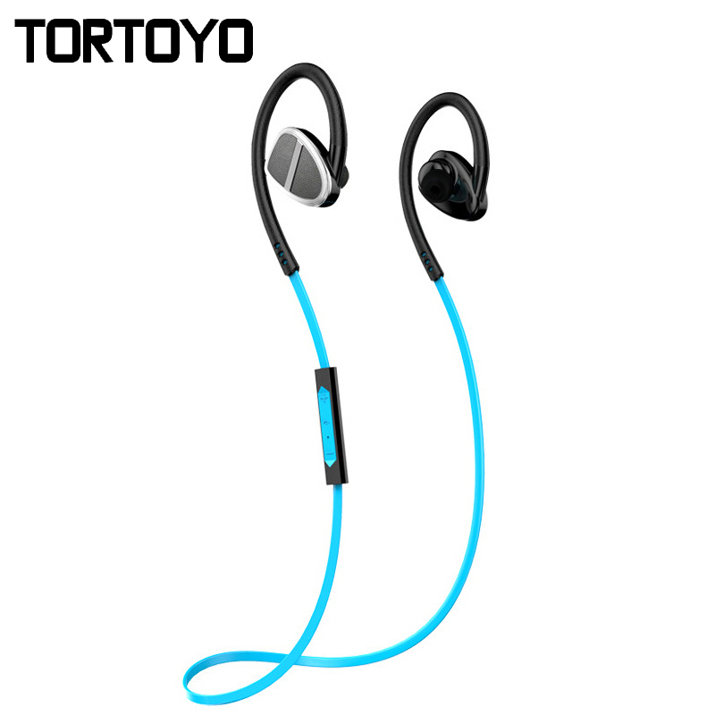 Sweatproof H902 Wireless Bluetooth Earphone Sports Ear Hook Earphones with Mic Headphone Handsfree Headset for iPhone Samsung