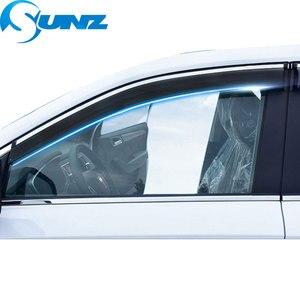 Image 5 - Osłona okienna do mercedesa E200L/E300L/E260L 2012 2016 osłony przeciwdeszczowe osłony przeciwdeszczowe do mercedesa E200L E300L E260L 2012 2016 SUNZ