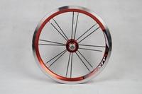Ultralight Bicycle Wheels 14 inch 412 BMX Wheelset 3 speeds Folding Bike Wheel V Brake Bicycle Wheel Sets Bicycle Parts