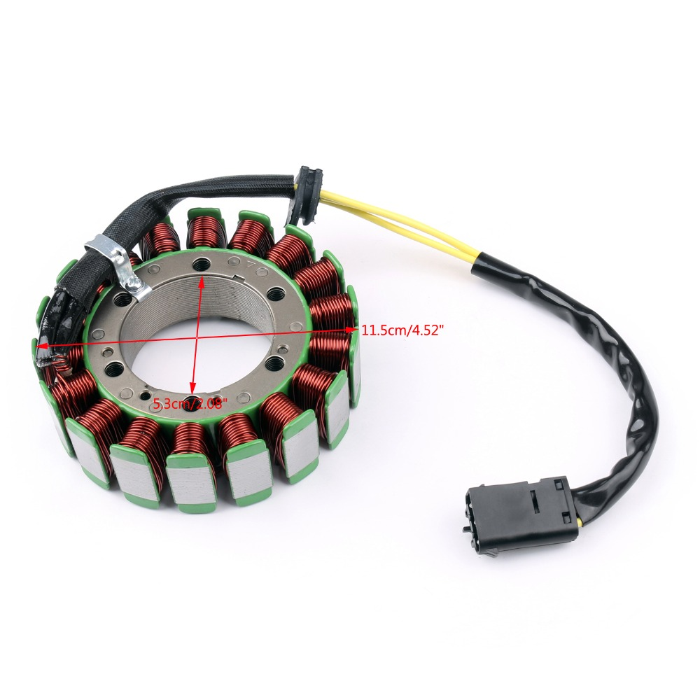 Areyourshop Motorcycle Magneto Generator Engine Stator Coil For BMW G650GS 11-15 F650GS 99-07 F650CS 00-05 Motorbike Cover Part