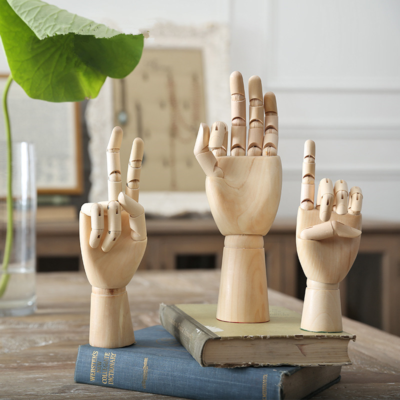 Best Home Decor Gifts 2012: Countryside Wood Zen Adjustable Palm Fun And Creative