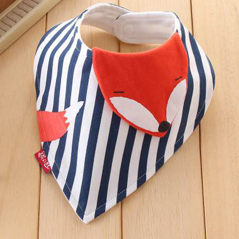 New Fashion Baby Bibs Cartoon animal Children Bibs Infant Burp Cloth Clothing Towel ScarKids Baby Bid Cloth Feeding Accessories ...