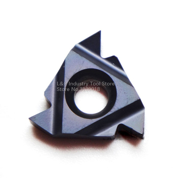 New Original Vargus Vardex 3IR A60 VTX Thread Carbide Inserts 3IR A 60 VTX Cutting Blade Tool Black image