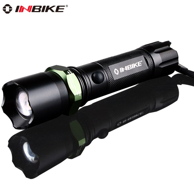 Inbike 603 glare flashlight waterproof mishit household lamp q5 mobile phone usb charge belt life-saving hammer