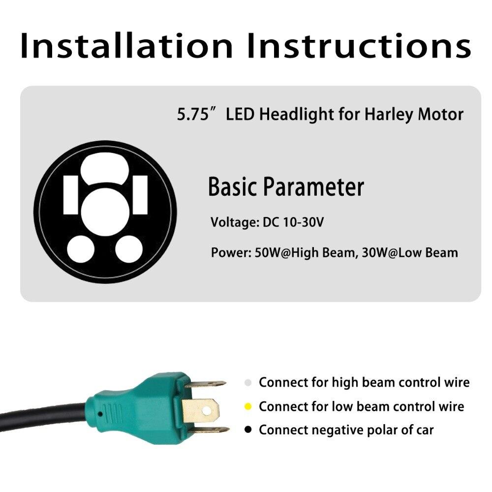 Emg Hz H4 Wiring Ivr Messaging Satellite Rv Receptacle Co Light Accesorios Moto Headlight 40w