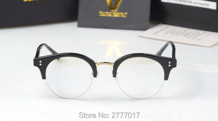 5124b462be Gentle Pavana Metal Half Frame Glasses Frame Retro Woman Men Reading Glass  UV Protection Clear Lens Computer Eyewear Eyeglass-in Eyewear Frames from  Apparel ...