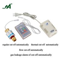 Alarm Security Home JA882S A pipe fitting Gas Safety Valve Gas Leak Wireless Detector self defense stove shut off valve