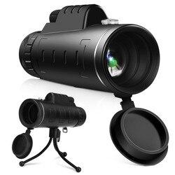 40X60 podwójny ostrości teleskop okular teleskopu z uchwytem telefonu bezpieczeństwa i przeżycia Z0727|Bezpieczeństwo i przetrwanie|Sport i rozrywka -