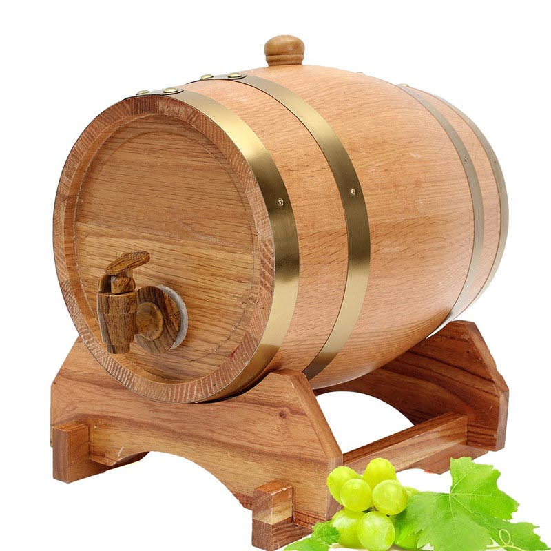 Whisky Red Wine Barrel Keg Wine Spirits Port Liquor Wood French Toasted Wine barrels High Quallity