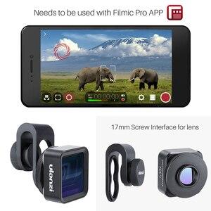 Image 5 - Ulanzi 1.33X Anamorphic Telefoon Lens Voor Iphone 11 Pro Max Huawei P20 Pro Mate Pixel Filmopnamen Filmmaken Telefoon Camera lens