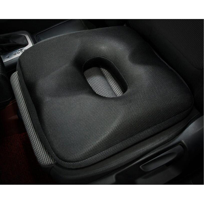 Nice Bottom Push Up Buttocks Car Front Seat Cushion Memory Foam Buttock Massage Chair Pad Office Seats Cover Black Red