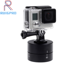 цена на 60 min Time Lapse Stabilizer Yuntai Bracket 360 Degree Rotate Stabilizer Base holder For Gopro Hero 6 5 4 3 Camera Accessories