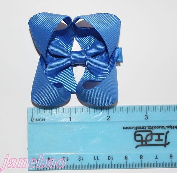 free shipping 2017 Newests 100pcs 3 ABC hair bows Boutique hair bows girl hair bows clips